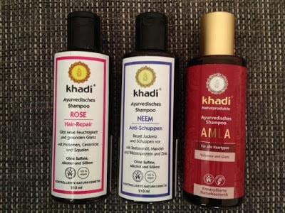 Khadi Ayurvedische Haarshampoos