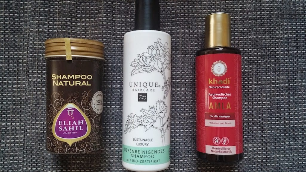 Naturkosmetik Shampoos Eliah Sahil - Unique - Khadi