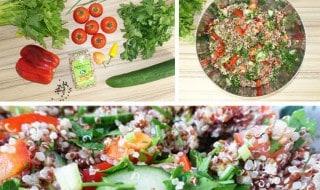 Detox Quinoa Salat Rezept