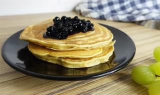 Bio Pancakes ohne Butter