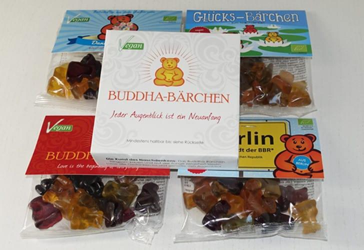 Bio Buddha-Bärchen Verpackungen