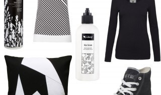 Green Goods: black and white