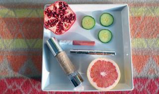 100% Pure tinted moisturizer, Mascara und Lipgloss