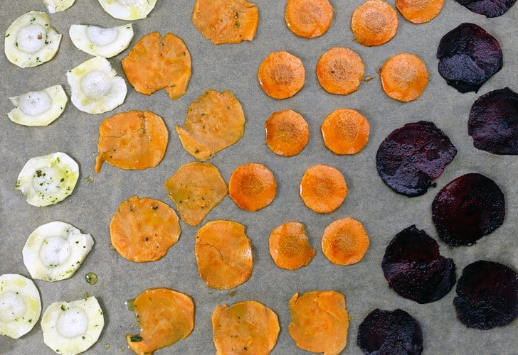 Gemüsechips selber machen