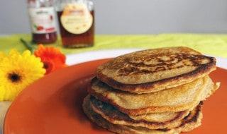 Vegane Pancakes ohne Zucker