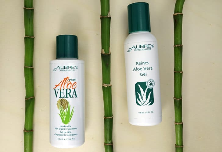 review aubrey organics aloe vera gel. Black Bedroom Furniture Sets. Home Design Ideas