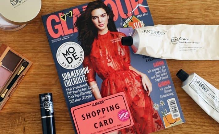 Glamour Shopping Week 2017 Naturkosmetik