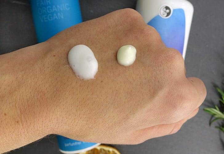 Reinigungsmilch ohne Duftstoffe Martina Gebhardt und i+m Naturkosmetik