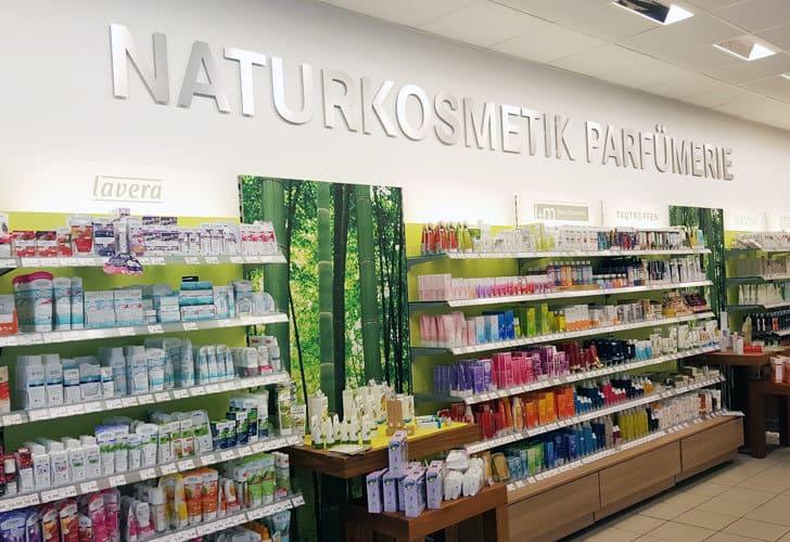 Naturkosmetik bei Budnikowski in Hamburg Altona