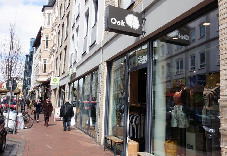 Oak Streetwear in Hamburg Altona