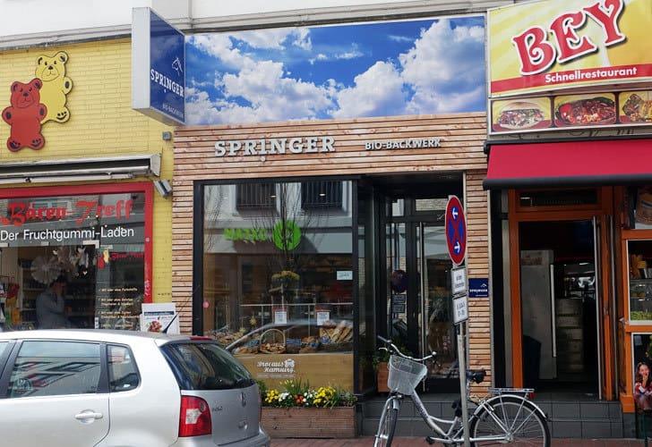 Springer Bio-Bäcker in Hamburg Altona