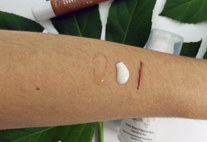 Santaverde firming gel mask alverde mix pai skincare serum Konsistenz