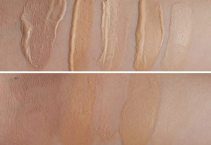 Swatches 100% Pure Tinted Moisturizer, Physician's Formula, RMS Beauty Concealer