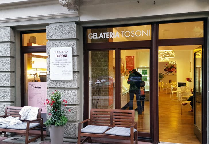 Bio-Eis Berlin: Gelateria Tosoni