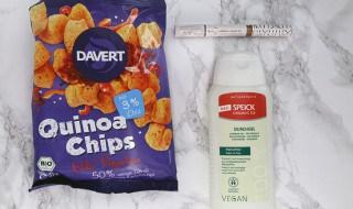 Quinoa Chips, Couleur Caramel LE & Speick Duschgel 3.0