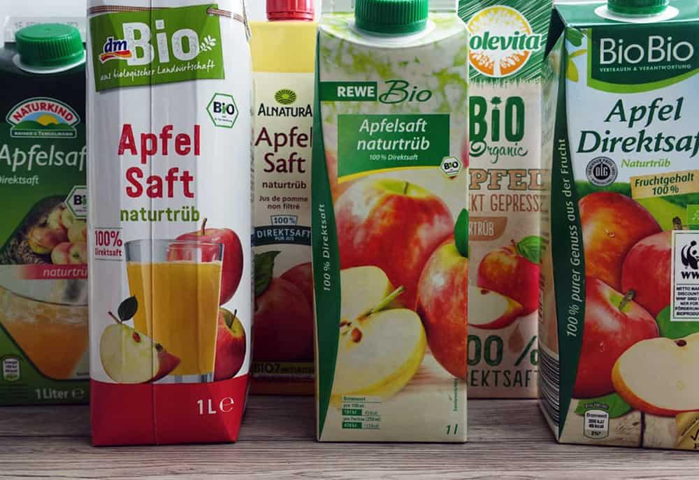 Bester Bio-Apfelsaft – Test