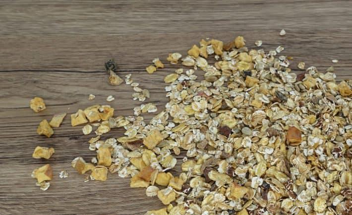 Bio-Müsli ohne Weizen und Zucker