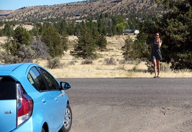Mein Road Trip mit Hybrid-Auto