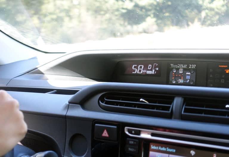 Toyota Prius C Innenraum