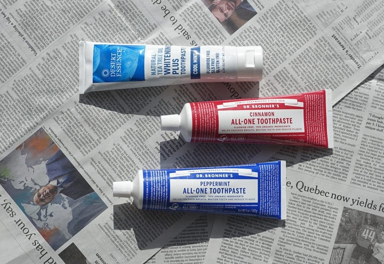 Naturkosmetik-Haul USA: Zahncreme Dr. Bronners und Desert Essence