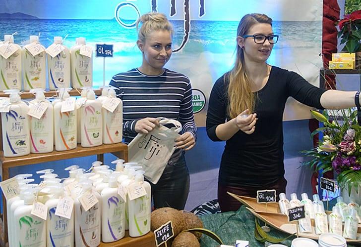 Organic Fiji Naturkosmetik auf dem Heldenmarkt in Berlin
