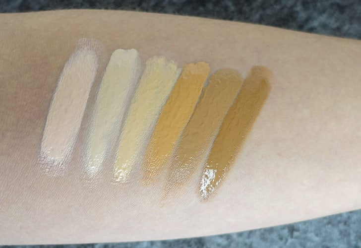 Hynt Beauty Concealer Swatches