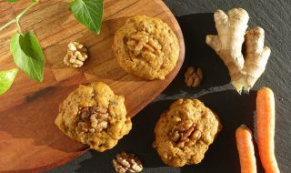 Gesunde Walnuss-Gewürz-Cookies