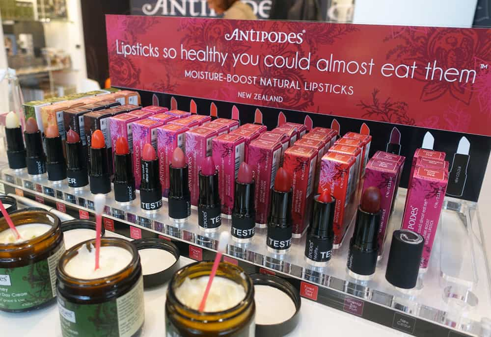 Antipodes-Lippenstifte