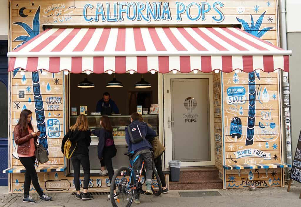 California Pops: Gesundes Bio-Eis Berlin