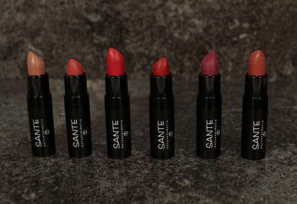 Sante Mat Matt Matte Lipsticks