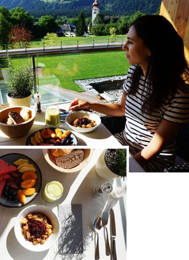 daberer gesundes veganes Frühstück