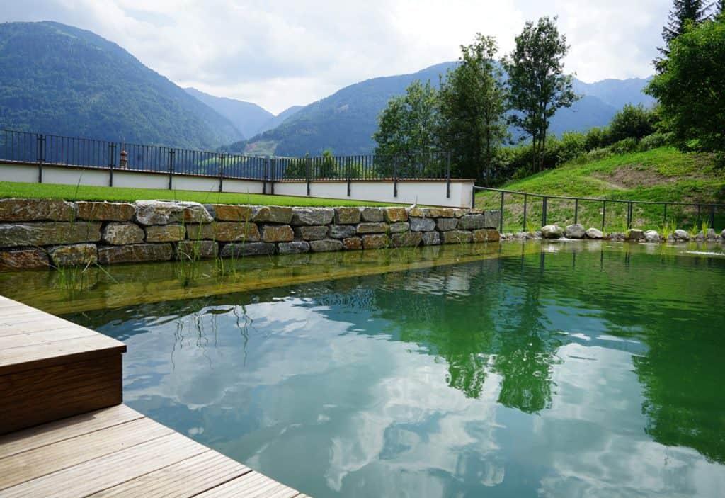 Außenbecken Schwimmteich