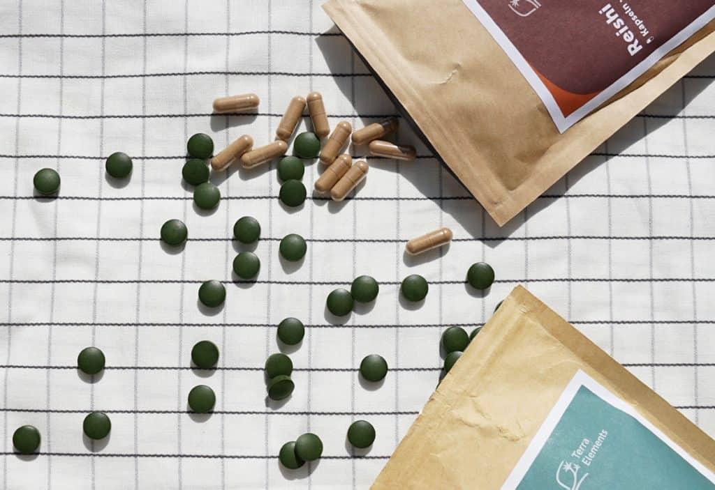Vegane Nahrungsergänzungsmittel von Terra Elements