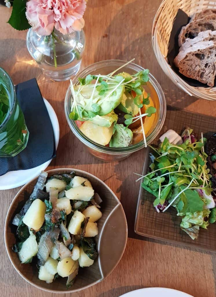 veganes Dinner im Super Berlin