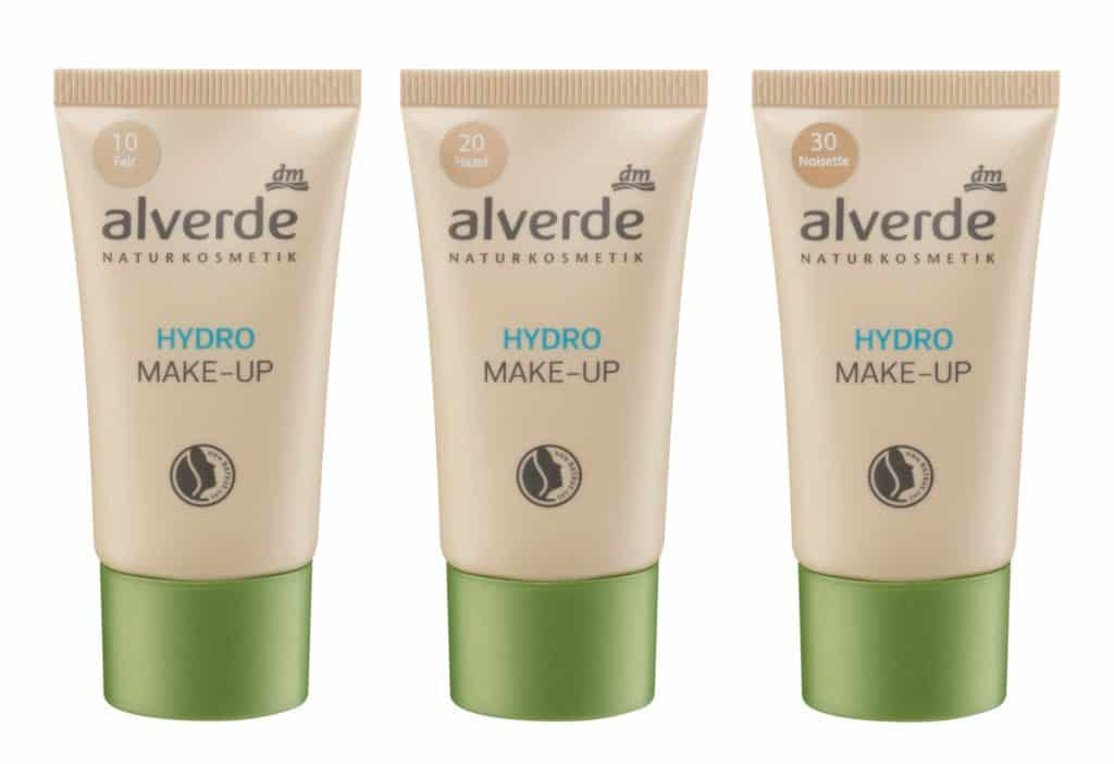 Neu 2017: Alverde Hydro Make-Up