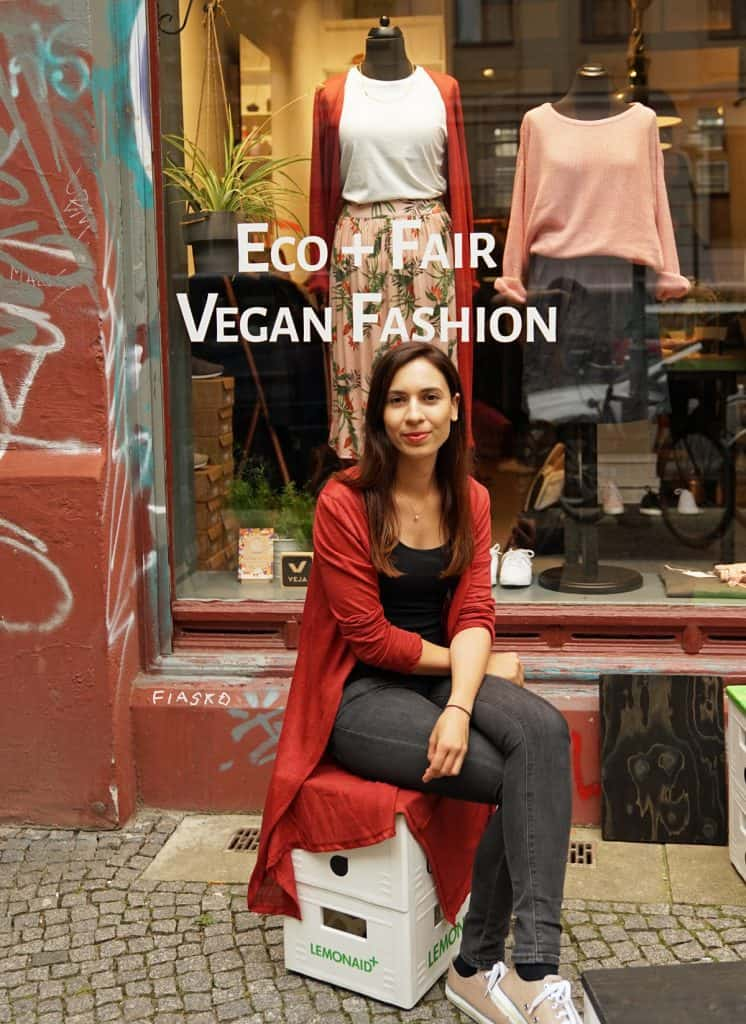 Fair Fashion Blogger Elisabeth Green vor Loveco
