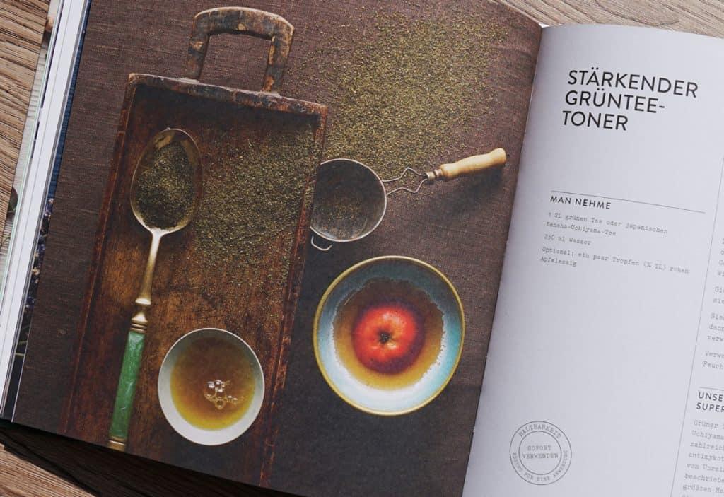 Gesichtswasser Rezept im Pretty Natural Buch
