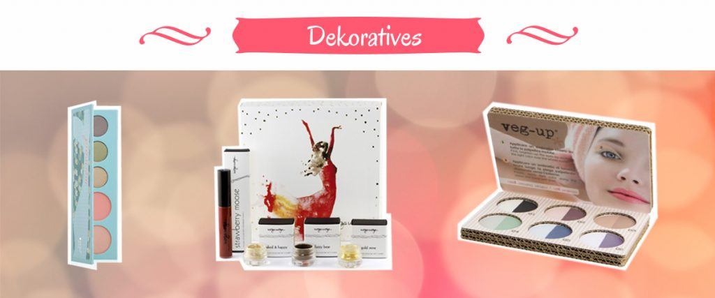 dekorative Naturkosmetik Geschenksets