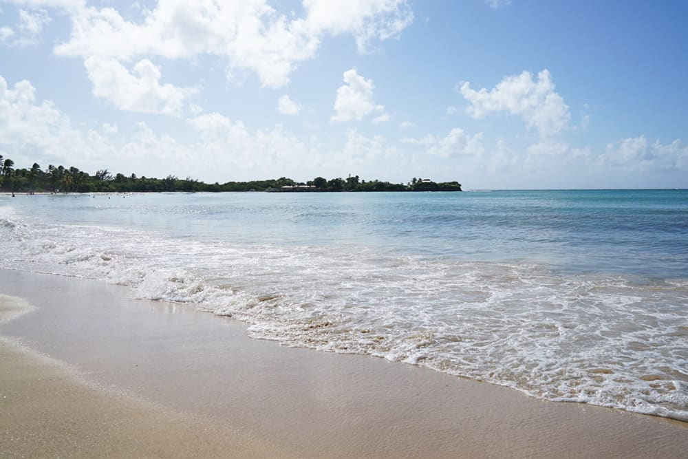Martinique Strand Les Salines