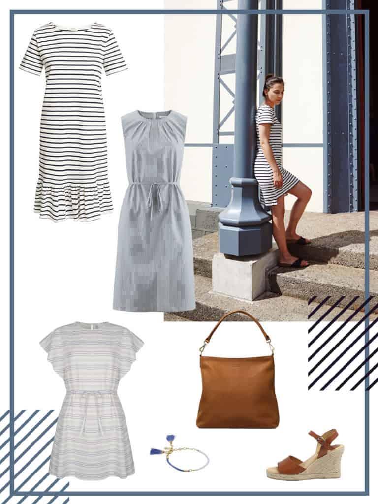 Fair Fashion Streifen Kleider