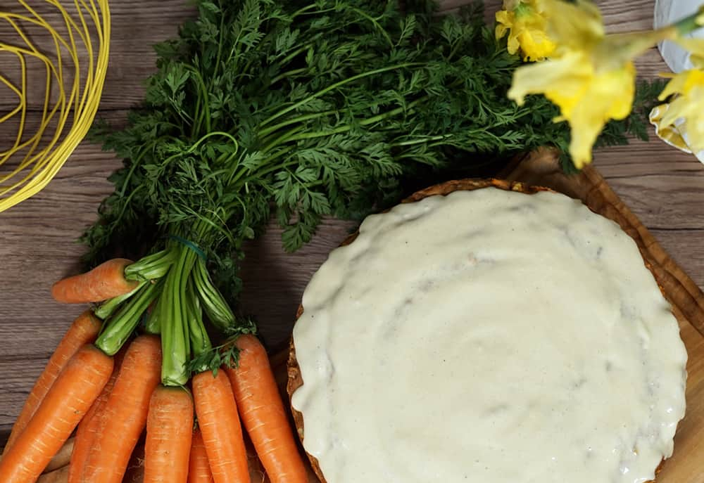 Carrot Cake Rezept vegan