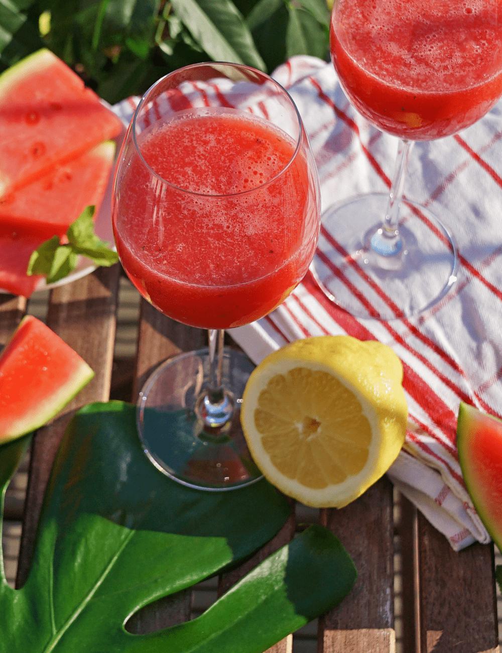 Wassermelonen Shake Rezept
