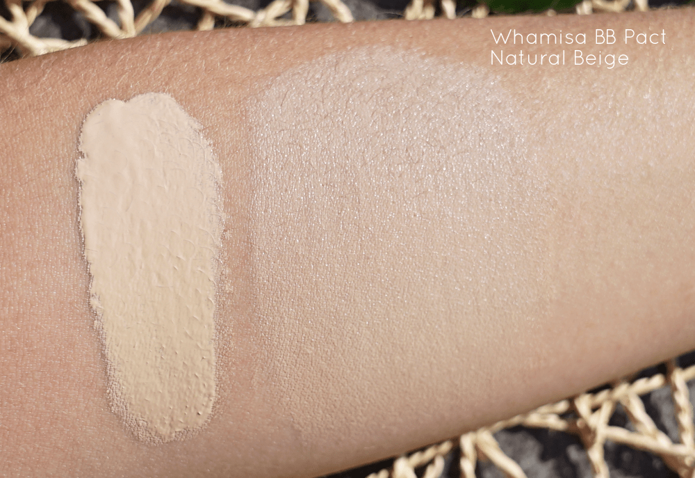 BB Pact Natural Beige Whamisa Swatch