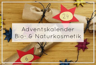 Bio-Adventskalender & naturkosmetik-ADventskalender