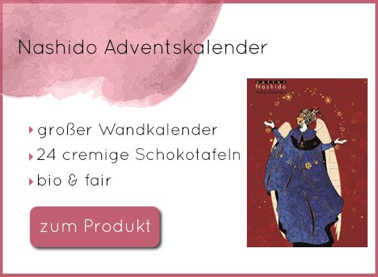 Zotter Adventskalender Nashido