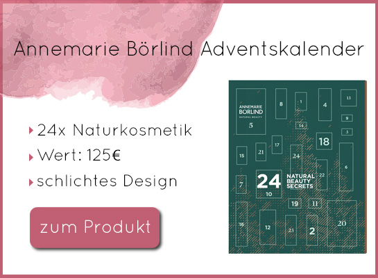 Annemarie Börlind Adventskalender 2019