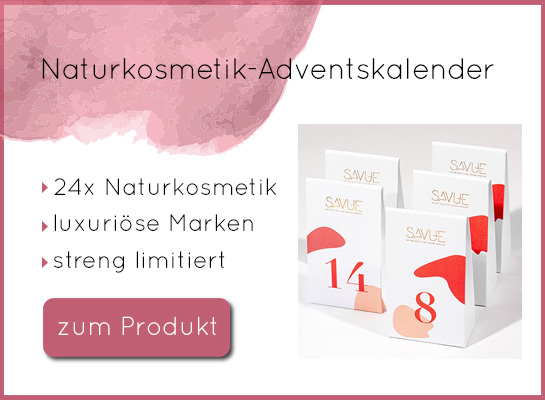 Naturkosmetik Adventskalender Savue Beauty