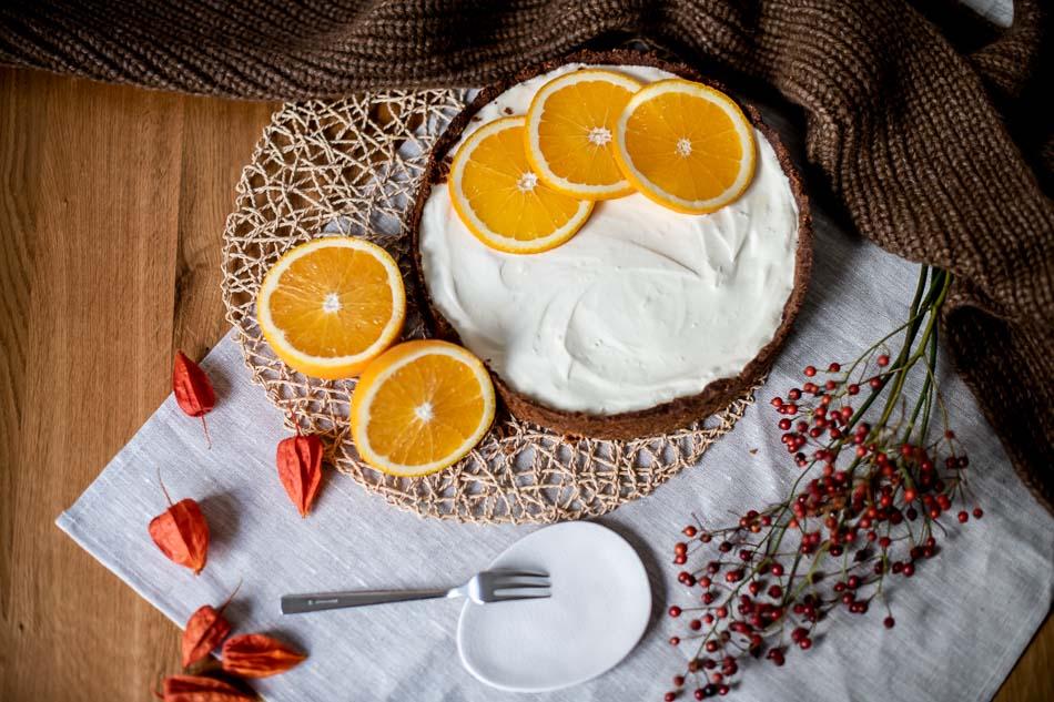 orangen cheesecake rezept