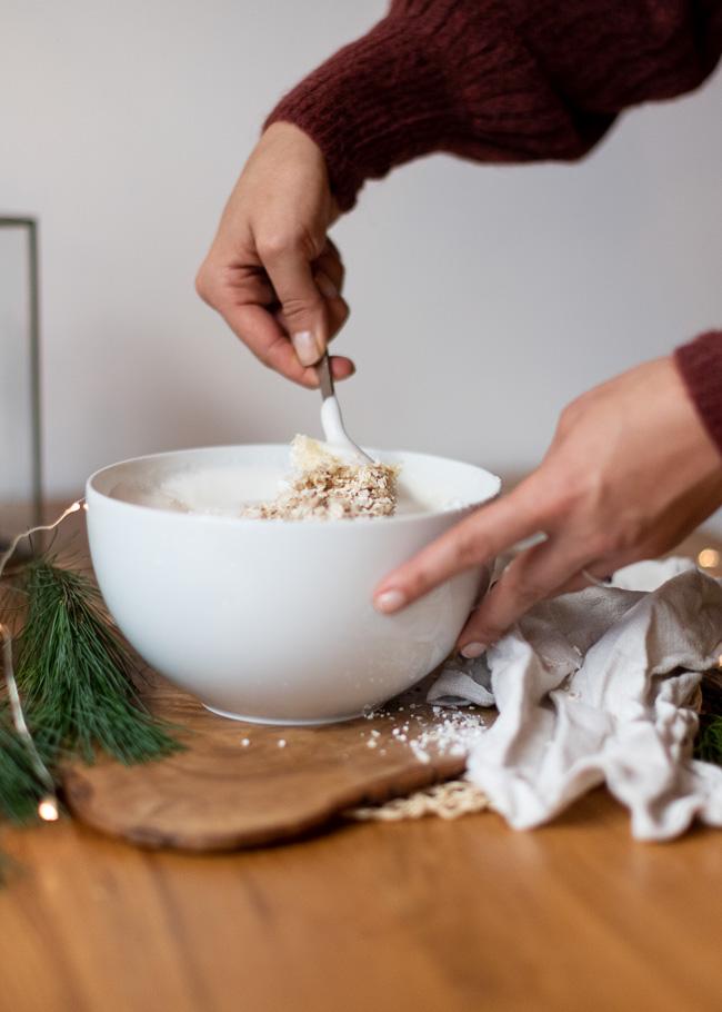 zubereitung vegane haferkekse