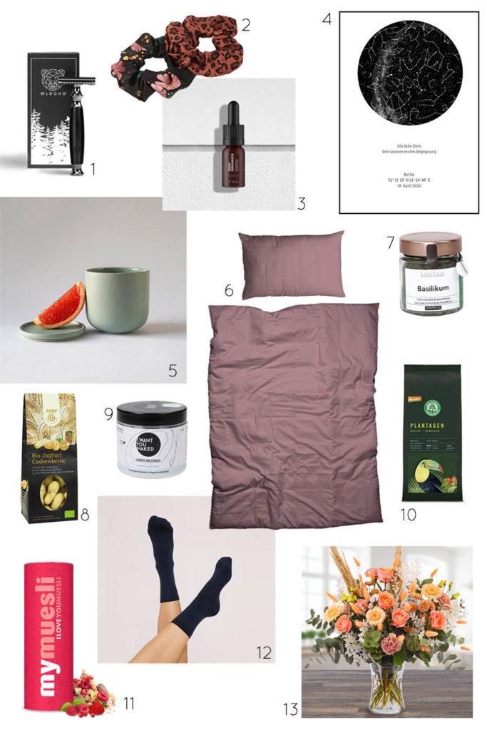 nachhaltige Valentinstag-Geschenke